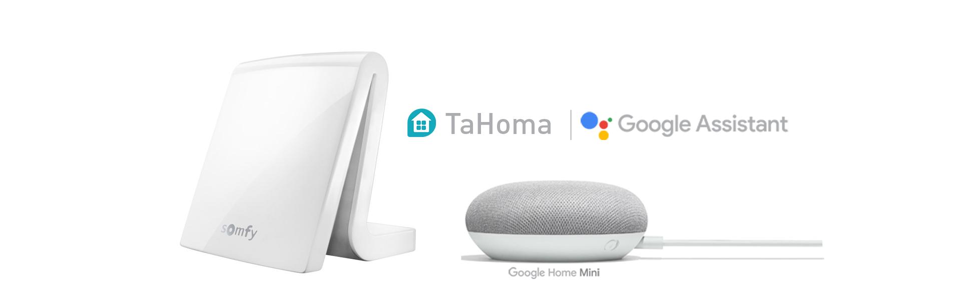 Somfy TaHoma inkl. Google Home Mini